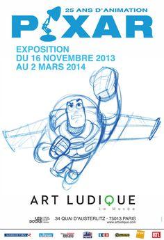 PIxar : 25 ans d'animation - Musée Art Ludique Paris ♥♥♥