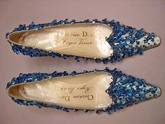Evening Shoes-House of Dior                                             Roger Vivier 1960