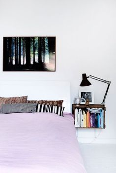 A Study in Contrasts: Pastels and Black | Apartment Therapy