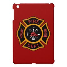 Fire Department Badge Cover For The iPad Mini  firefighter jacket, firefighter prayer, diy firefighter costume #firefightingislife #firefightersofinstagram #firefighterinthemaking Firefighter Boyfriend, Firefighter Workout, Firefighter Crafts, Firefighter Gear, Cute Ipad Cases, Ipad Mini Cases, Fire Dept, Fire Department, Boyfriend Gifts