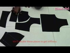 Double Katori Blouse - Cutting the Cloth Kurti Patterns, Baby Dress Patterns, Blouse Patterns, Sewing Patterns, Salwar Designs, Blouse Designs, Princess Cut Blouse, Blouse Tutorial, Sewing Blouses