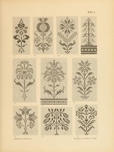 Individual motifs but great for combinations/multiples.