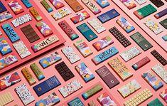 New packaging set for Delicata chocolate - Dutch Design Daily Tetra Pak, Cocoa Tea, Tea Snacks, Tea Brands, Creative Company, Typographic Design, Cool Bars, Design Agency, Packaging Design