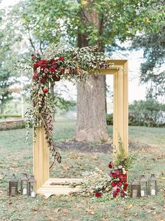 30 Rustic Backyard Wedding Decoration Ideas ❤ See more: www. - - 30 Rustic Backyard Wedding Decoration Ideas ❤ See more: www.weddingforwar… 30 Rustic Backyard Wedding Decoration Ideas ❤ See more: www. Perfect Wedding, Dream Wedding, Glamorous Wedding, Trendy Wedding, Fall Wedding Arches, Arch Wedding, Wedding Backdrops, Wedding Gold, Wedding Ideas For Fall