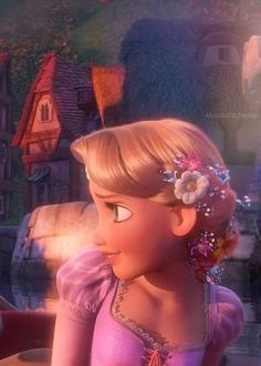*RAPUNZEL ~ Tangled, 2010...by chris