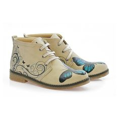 """GOBY Womens Shoes """" Butterfly Ankle Boots"""" PH203 Artificial Leather, Soft Fabrics, Memory Foam, Ankle Boots, Butterfly, Canada, Fashion, Ankle Booties, Moda"""