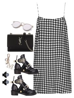 """""""Untitled #4110"""" by magsmccray on Polyvore featuring Boutique, Balenciaga, Yves Saint Laurent and Witchery"""