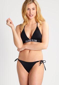 Calvin Klein Swimwear INTENSE POWER - Bikiniyläosa - black - Zalando.fi