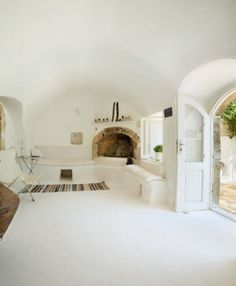 barrel vaulted ceilings, on the island of Kythira
