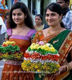 About Bathukamma festival 2nd Grade Reading Comprehension, Festivals Of India, Diwali, Sari, Culture, Portal, Flowers, Painting, Fashion