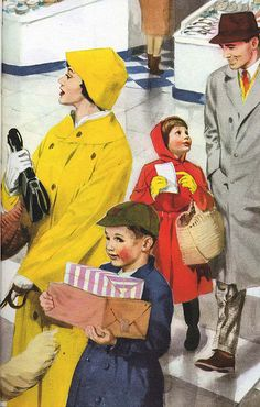 Vintage Ladybird Books 'Helping at Home' by LarkingAbout, via Flickr