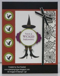 Wicked Cool by snoetzel - Cards and Paper Crafts at Splitcoaststampers