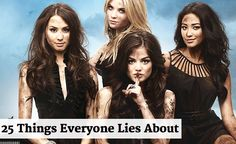 #6, guilty! Which ones are you guilty of lying about?