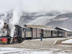 The Viejo Expreso Patagónico, better known as La Trochita, is a picturesque and touristic railway li... - Photo Flickr