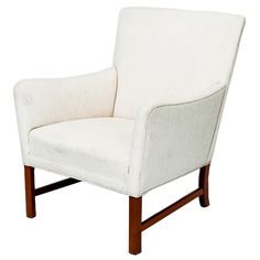 Ole Wanscher Lounge Chair- House Beautiful jan 2013 in leather.