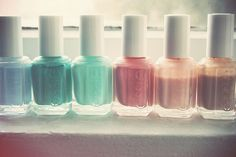 essie pastels