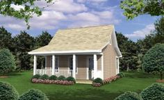House Plans - 348-00165