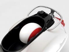 White Vespa - GTS 300 Super (storage)