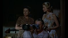 Rear Window (1954), Grace Kelly, , Alfred Hitchcock, Thelma Ritter ,  James Stewart,