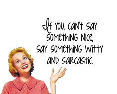 """Quirky Quotes by Vintage Jennie   """"Witty"""""""