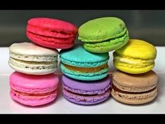 How to make french macarons French Macarons Recipe, French Macaroons, Cookie Recipes, Dessert Recipes, Macaroon Recipes, Cookies, Cakes And More, Cookie Decorating, Sweet Recipes