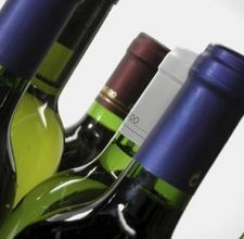 cut off tops of wine bottles safely with kerosene soaked string