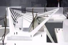 Resultado de imagen para arquitectura organica maquetas