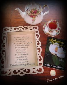 A Cup Of Tea and A Cozy Mystery: A Tea Tray Poetry Craft I Made