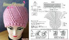 Crochet Beanie Beanie Pattern Free, Crochet Beanie Pattern, Crochet Diagram, Crochet Baby Hats, Knit Or Crochet, Crochet Clothes, Knitted Hats, Crochet Patterns, Hand Embroidery Stitches