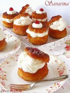 retete a beard slang - Beard Cake Recipes, Dessert Recipes, Desserts, Savarin, Good Food, Yummy Food, Romanian Food, Romanian Recipes, Rum Cake