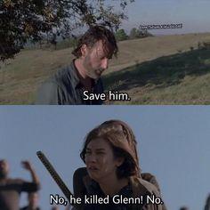 Poor Maggie Maggie or Rick? #TheWalkingDead #TWD #TWDFamily