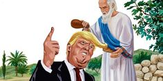 """Let's look at the Bible and see if Trump reminds us of when God """"picked"""" the king"""