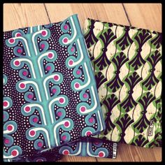 Beautiful African fabric from London