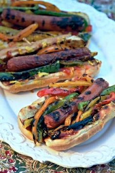 You know what hot dogs are missing? Vegetables. Salsas. Creative sauces. Cheese. Mouth watering yet? We've got the wild and crazy hot dog…