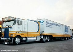 My friend Fred Wolf truck