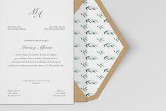 Clasic & Trend - Greenery Wedding invitation