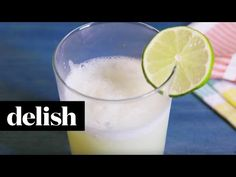 Easy Brazilian Lemonade Recipe - Key Lime Pie Drink  -  limes, sugar, water, sweetened condensed milk.  sweet, sour, tart, cold, ice.  add fruit or alcohol for variety, or freeze.  want, sounds so good!  summer!   lj
