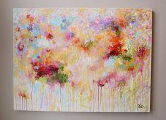 48 gran pared arte multicolor, pintura colorida, modean, pintura acrílica, pintura abstracta de la gran pintura de arte