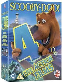 SCOOBY - DOO! Quadrilogy (4 Disc) ( #DVD ) 4Live Action #Films KidsWB #SCOOBYDOO