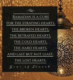 Truly we seek solace in your love Ya ALLAH my Lord in this gifted month of Ramadan. May our wounded hearts be cured of this tragic world and help us to stay strong. Ameen.