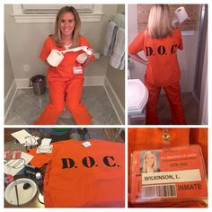 Halloween costume ideas. Piper from Orange is the new black