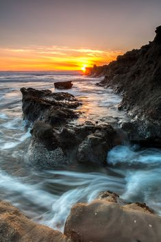 ~~Pillar Point 2 ~ Pacific Ocean sunset, Half Moon Bay, California by gimletsandfilm~~