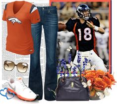"""Broncos Country"" by colierollers ❤ liked on Polyvore"
