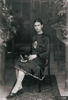 Teenage Frida Kahlo