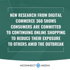 New research from #DigitalCommerce360 shows #customers 👨💻 are committed to continuing online #Shopping 🛒 to reduce their exposure to others amid the #COVID19 🦠 outbreak. 🚀 Read eCommerce Survival Guide: Survival Guide, Research, Ecommerce, Online Shopping, How To Make Money, Reading, Crown, Survival Guide Book, Tv Shopping