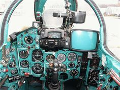 МиГ-27 кабина