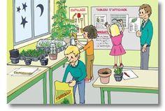 Les semis en classe, des observations passionnantes Cycle 3, Science, Plantation, Woodland Party, 4 Kids, Permaculture, Family Guy, School, Nature