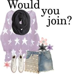 """""""Would You Join?"""" by elaine-elizabethxo ❤ liked on Polyvore"""