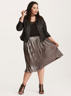 bc485a9eec 41 Best My Style - Skirts images | Midi Skirt, Midi skirts, Plus ...