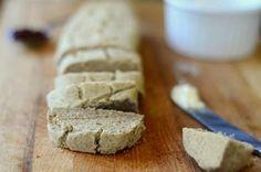 5 Ingredient Buckwheat Bread - almond milk or water (or other nut milk of choice), olive oil, buckwheat flour, baking soda, salt